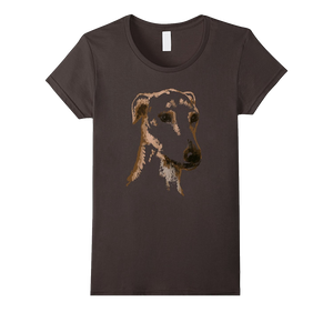 Long Haired Greyhound T-Shirt