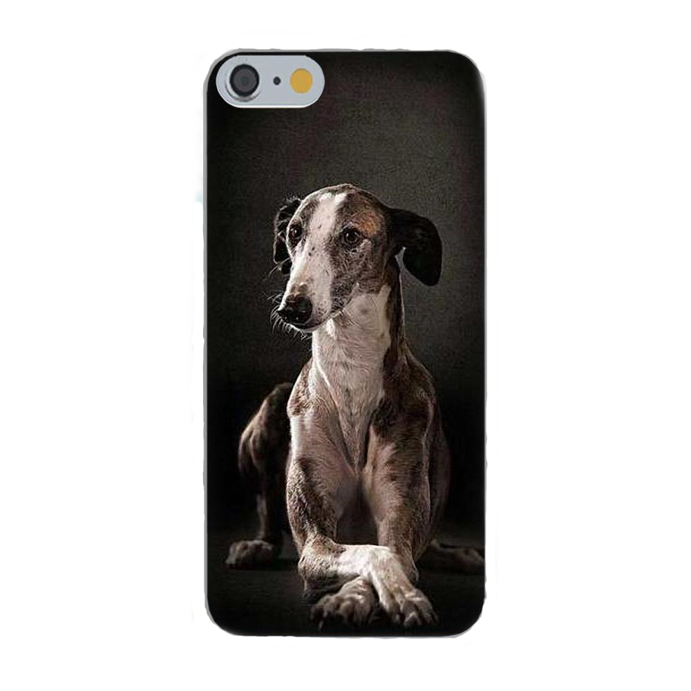 Patient Greyhound Silicone iPhone Cover