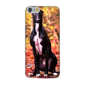 Autumn Greyhound Silicone iPhone Cover