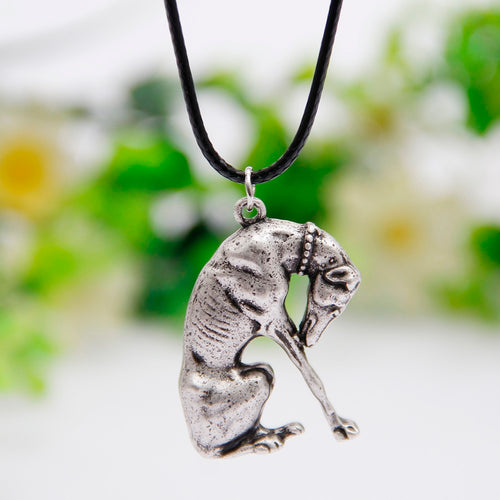 Praying for Greyhound Rescue Necklace