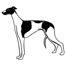 Black Spotted Greyhound Decal