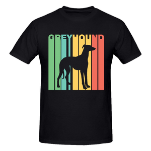 7 Colors - 2019 Vintage Greyhound T-Shirt