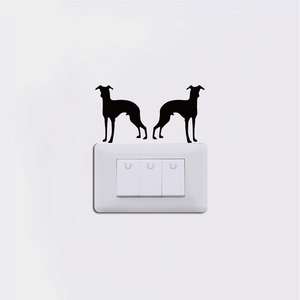 Dual Mini Hounds Decal