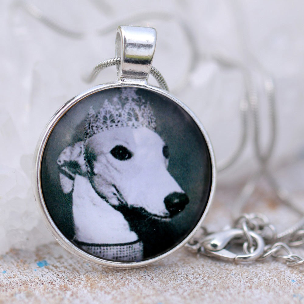 Royal Greyhound Pendant Necklace