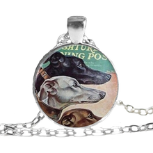 Saturday Evening Post Pendant Necklace