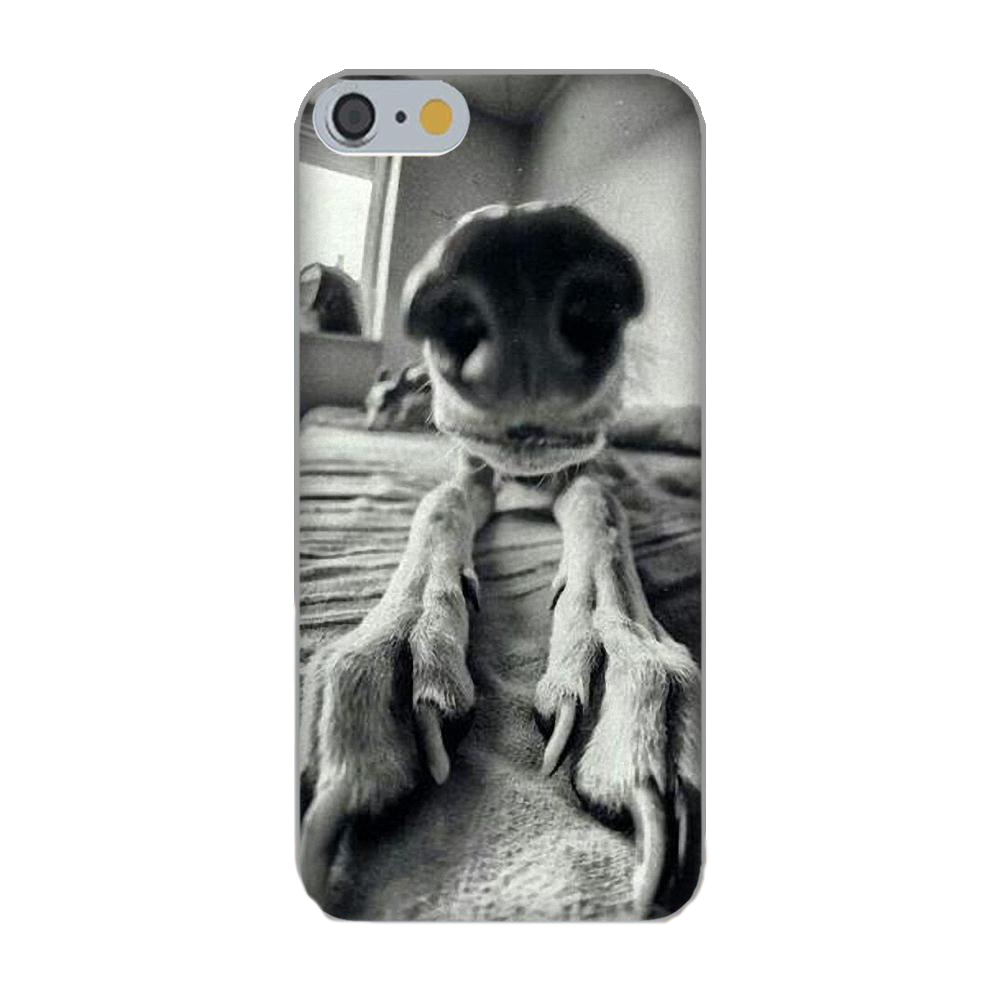 Greyhound Silicone Black and White iPhone Cover