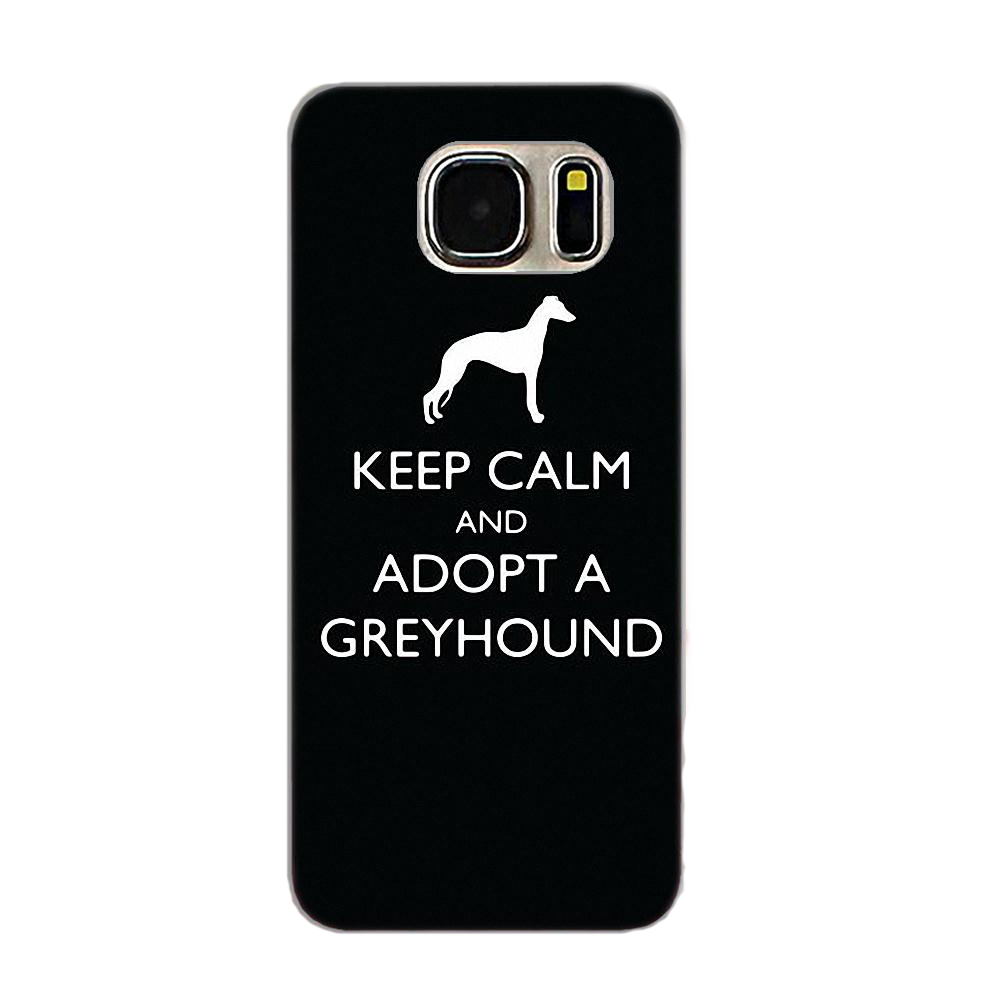 Adopt A Greyhound Silicone iPhone Cover