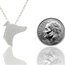 Greyhound Silhouette Necklaces