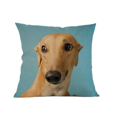 3 SIZES - Greyhound Throw Pillow Design 2