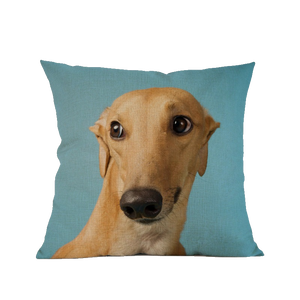 3 SIZES - Greyhound Throw Pillow Cover Design 2