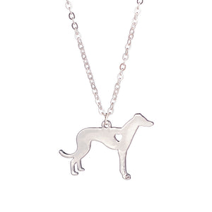 Love Of Greyhounds Necklace