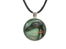 Love Greyhound Pendant Necklace