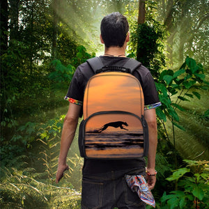 Sunset Greyhound Backpack