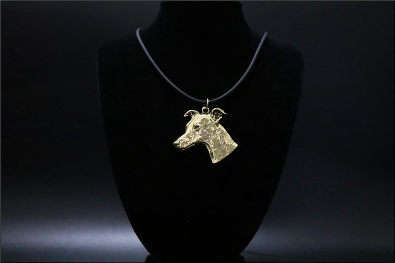Large Greyhound Pendant Necklace