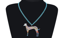 Stylish Greyhound Necklace