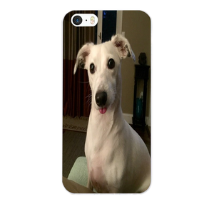 Adorable Greyhound Silicone iPhone Cover 2