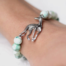 Italian Greyhound Beaded Bracelet
