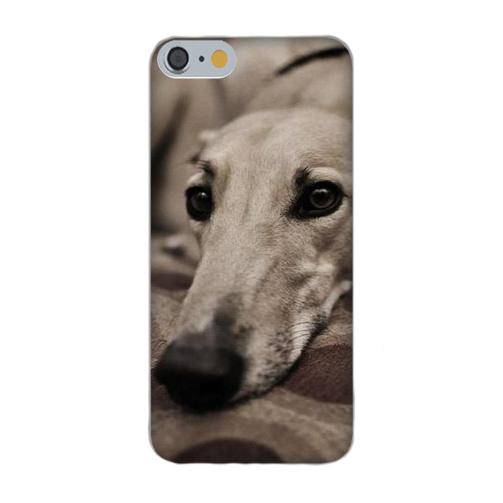 Adorable Greyhound Silicone iPhone Cover