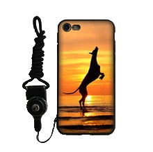Greyhound Silicone iPhone Cover With Lanyard 2