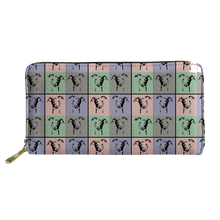 Colorful Greyhound Wallet