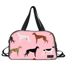 Pink Greyhound Gym Bag