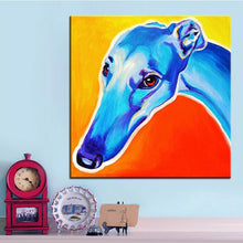 """Lizzie"" Greyhound Print"