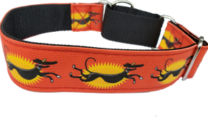 ZOOMIE - Richard Skipworth Martingale Collar by Love OF Greyhounds