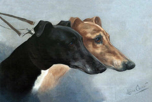 Greyhounds by Lilian Cheviot