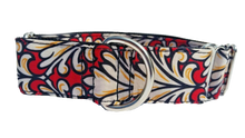 Red Flair Martingale Collar