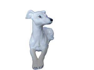 Elegant Greyhound Figurine