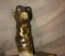 VINTAGE/ANTIQUE BRONZE CAST GREYHOUND BUST.