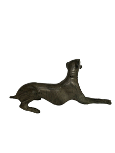 Vintage Bronze Greyhound 8 Inch Sculpture