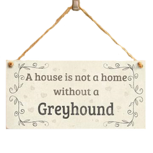 Greyhound Wall Plaque