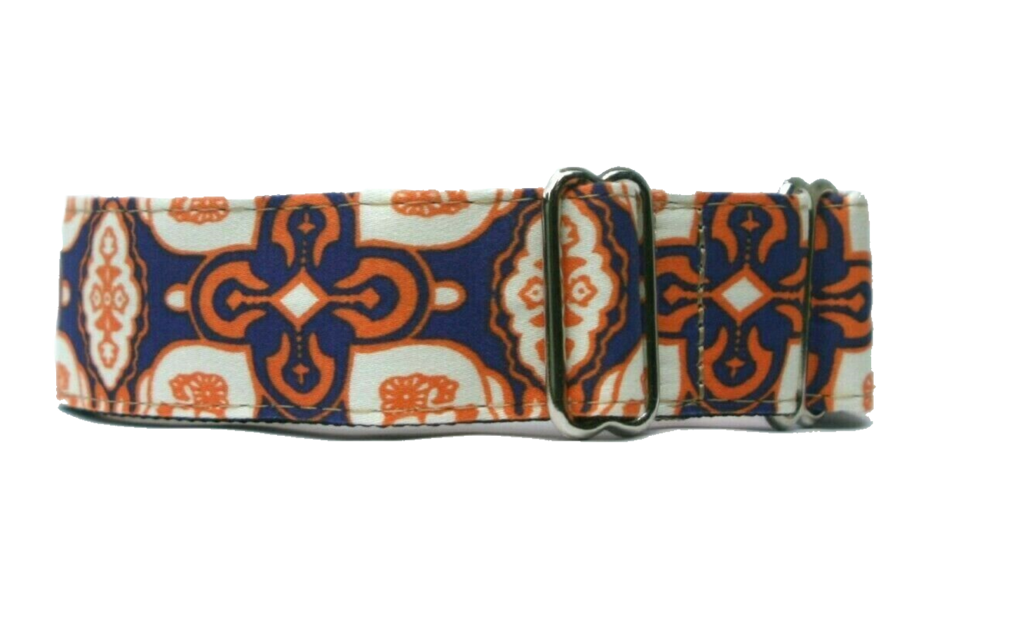 Purple and Orange Martingale Collar
