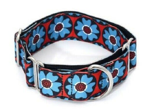 Flower Power Martingale Collar