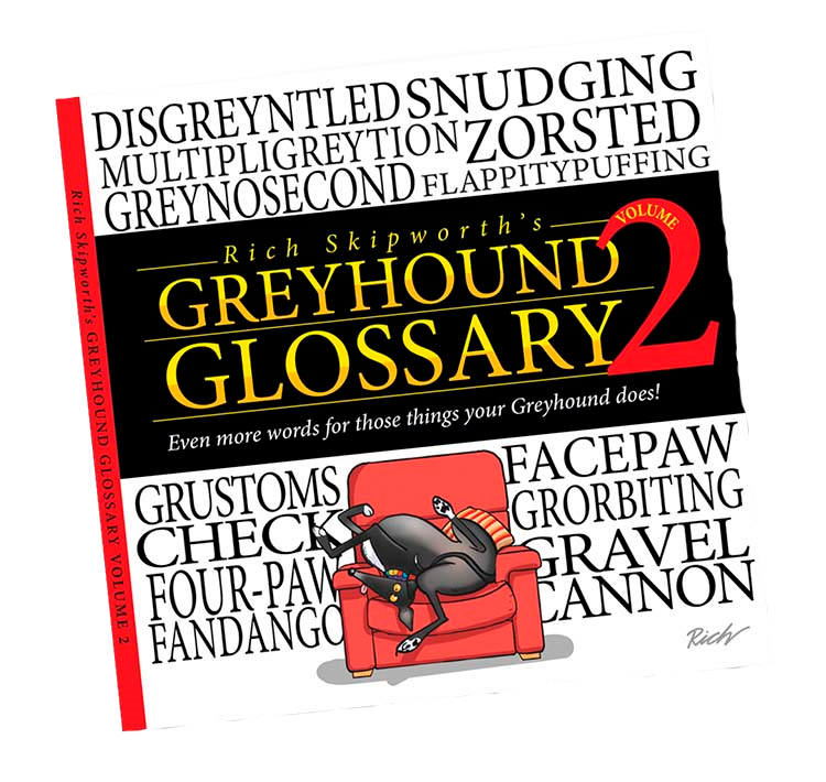 NEW! Greyhound Glossary 2 by Richard Skipworth