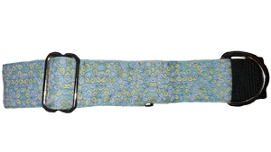 Blue & Yellow Flower Martingale