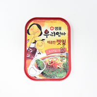 샘표 우리엄마 매콤한 깻잎 - CANNED SESAME LEAVES IN SPICY SAUCE (70G)