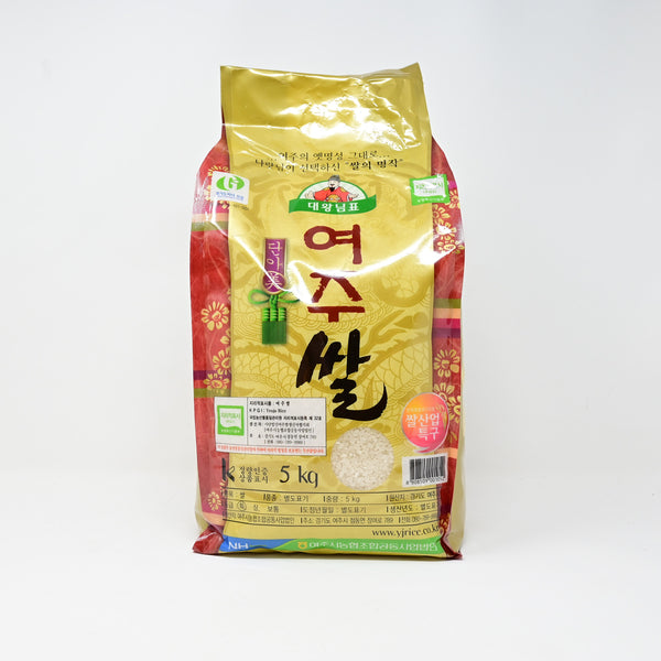 한국산 대왕님표 여주쌀 (한국 여주 쌀 / 등급 특 ) - KOREA'S BEST PREMIUM WHITE RICE THE GREAT KING'S YEOJU RICE (5KG)