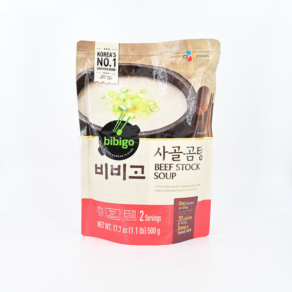 비비고 사골 곰탕 - BIBIGO BEEF STOCK SOUP (2servings/500g)