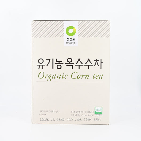청정원 유기농 옥수수차 - ORGANIC CORN TEA 300g [(10gx5ea)x 6packs]