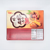CW 밤 찰떡 쿠키 - Chestnut Ricecake Cookie (12packs)