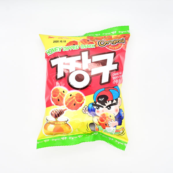 삼양 오리지날 짱구 - ORIGINAL JJANG-GU HONEY DIPPED SNACK (115G)