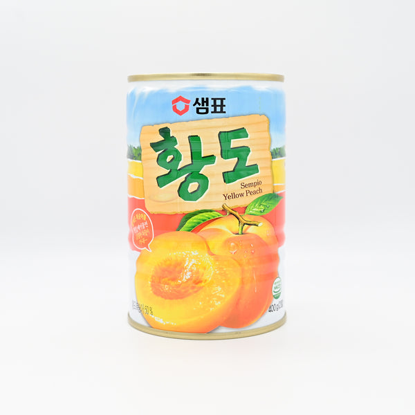 샘표 황도 캔 - Sempio Canned Yellow Peach (400g)