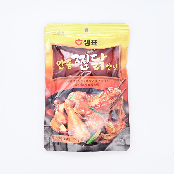 샘표 안동 찜닭 양념 - ANDONG STYLE CHICKEN SIMMER SAUCE (3~4servings)
