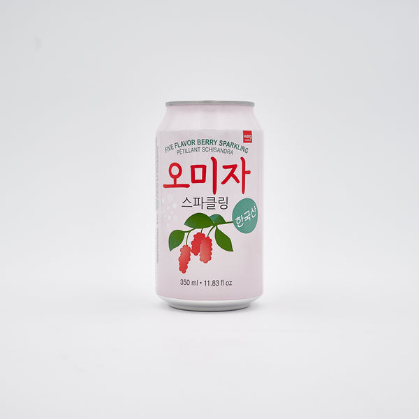 한국산 오미자 스파클링 - Five flavor berry sparkling drink (350ml x 6 can)