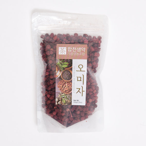 국내산 오미자 차 - DRIED SCHISANDRA CHINENSIS (5.29 OZ)