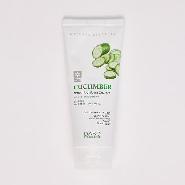오이 내추럴 리치 폼 클렌저 - CUCUMBER NATURAL RICH FOAM CLEANSER (6.1 OZ)
