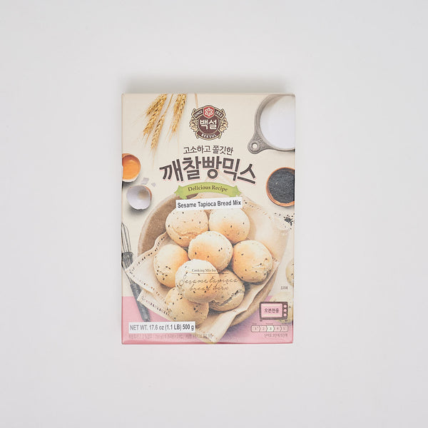 백설 깨찰빵 믹스 - SESAME TAPIOCA BREAD MIX (17.6 OZ)