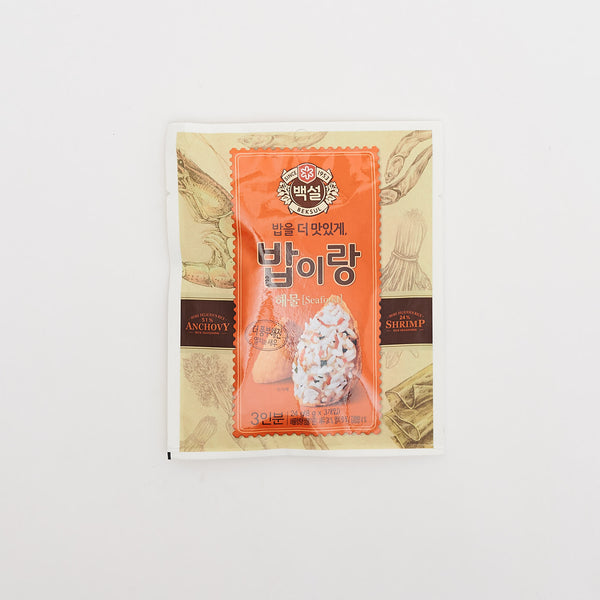 백설 밥이랑 해물 맛 - RICE SEASONING MIX SEAFOOD FLAVOR (27 G)